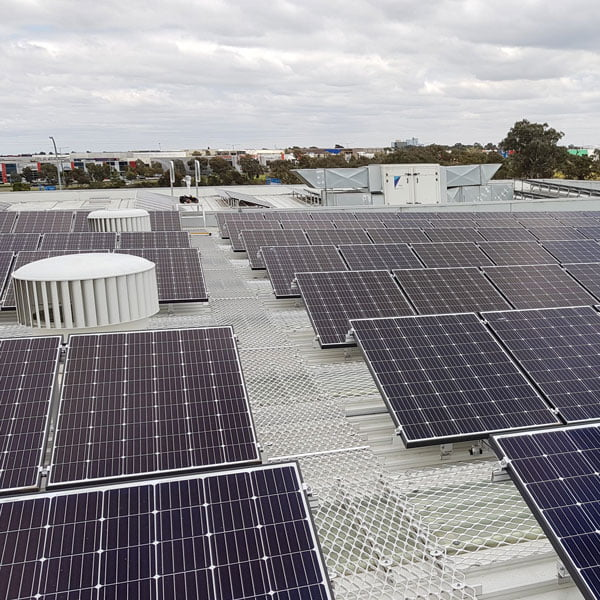 Epping Animal Welfare 75 kW solar energy System