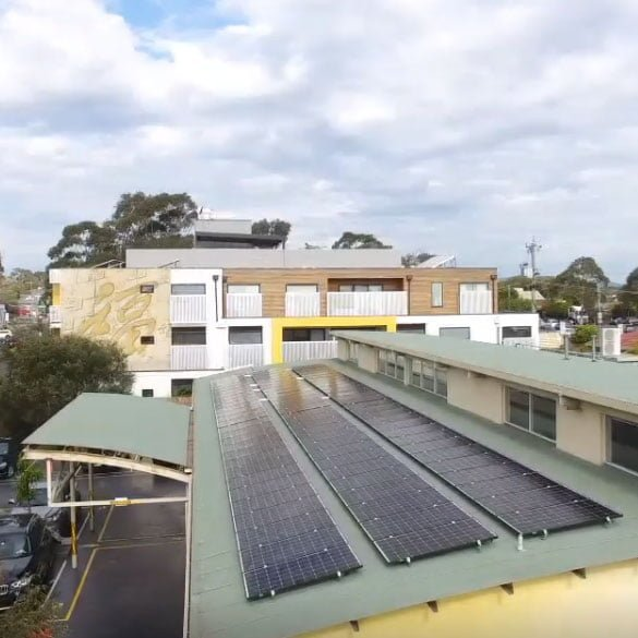 Gloryland Early Learning Centre Solar Panels