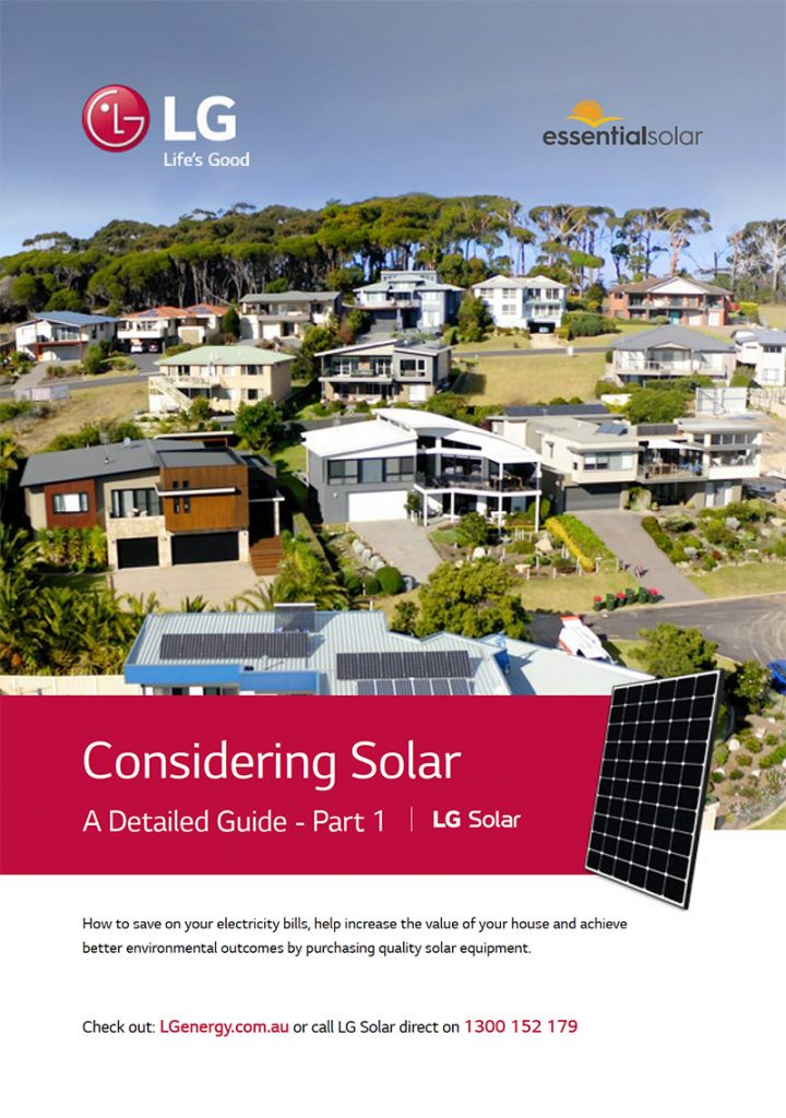 LG Considering Solar Part One cover