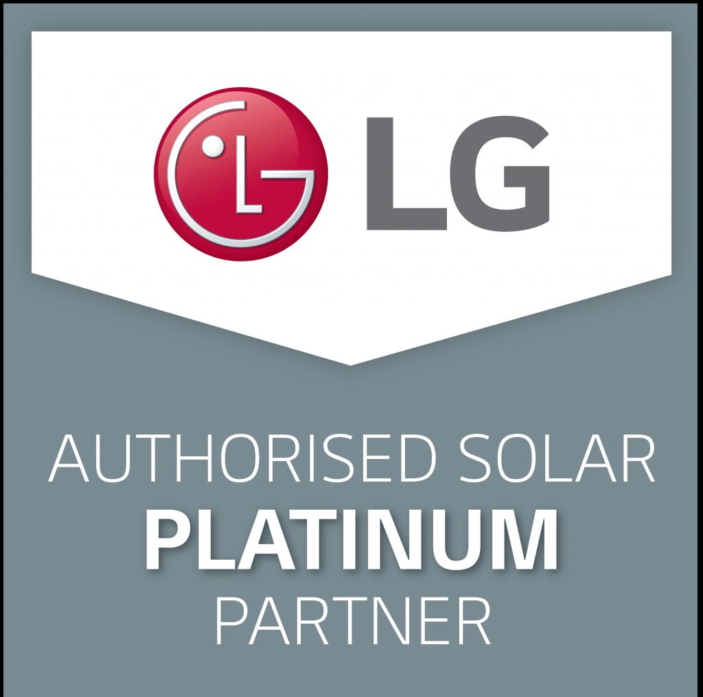 LG SOLAR Authorised Platinum Partner Logo
