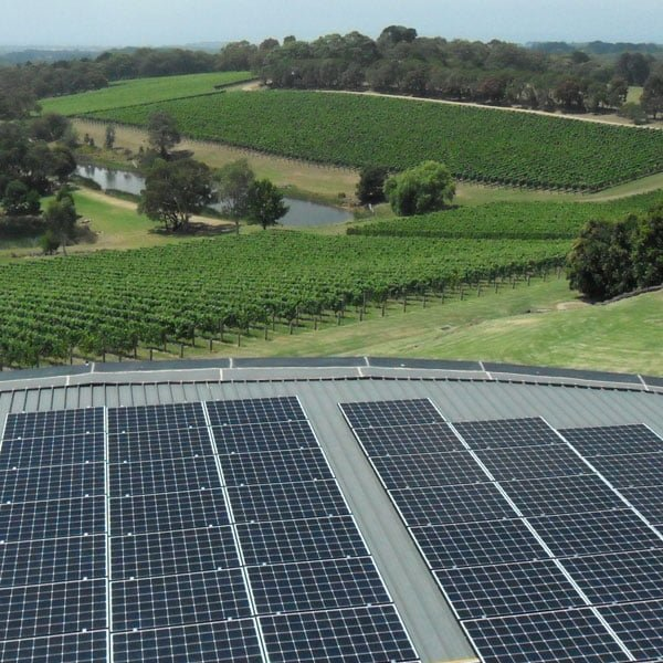 Port Philip Estate 99 kW Solar Energy System installed by Essential Solar