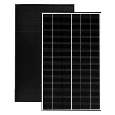 Solar Panels Stacked