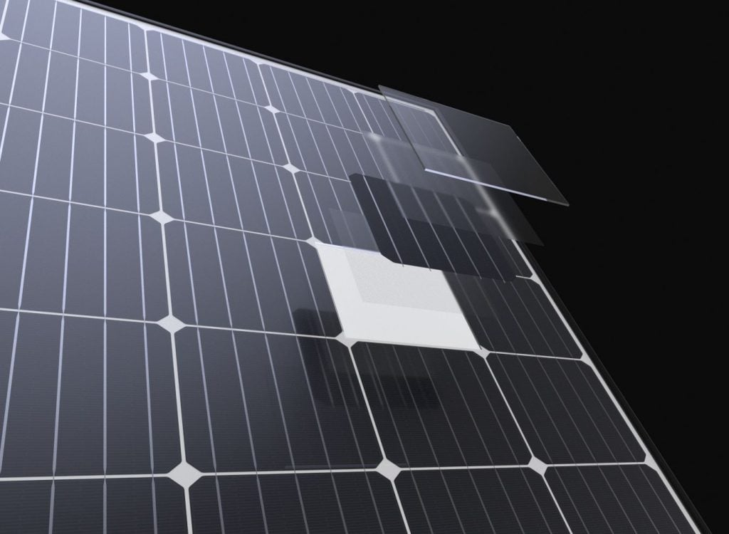 Suntech Solar Panel Closeup